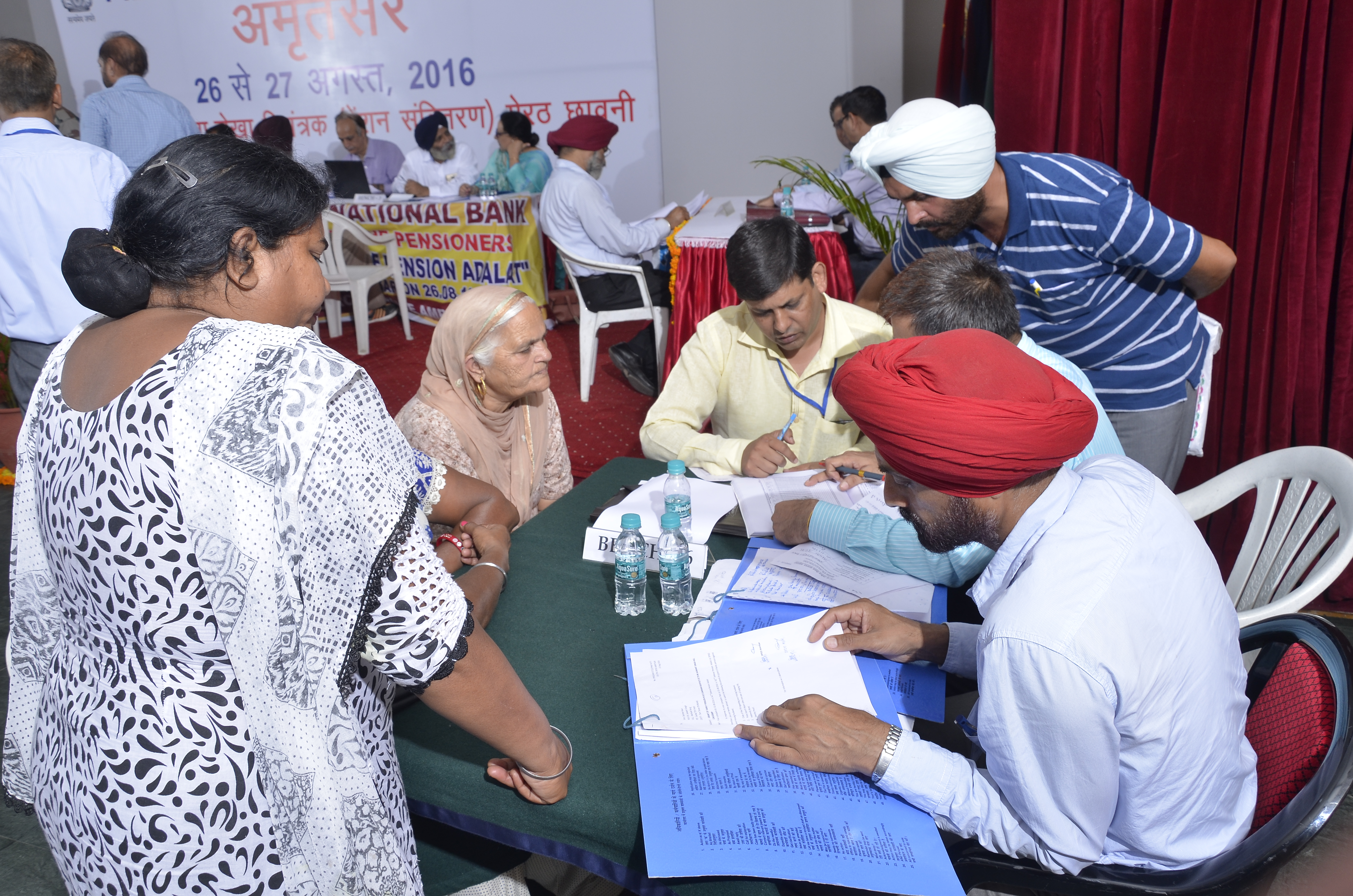 Checking and verifying service documents of ESM/Family Pensioners for redressing pension grievances