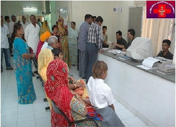 Patients Being Registered at Jodhpur.