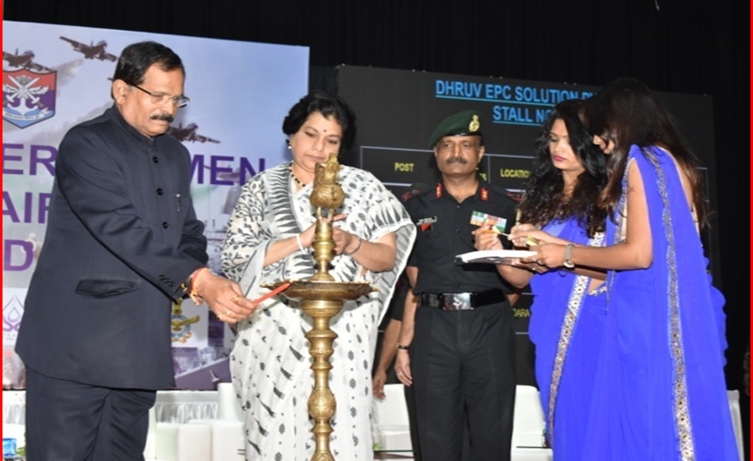Hon'ble R R M at the inauguration ceremony  of Job Fair at Ahmedabad on 23 Aug 2019.