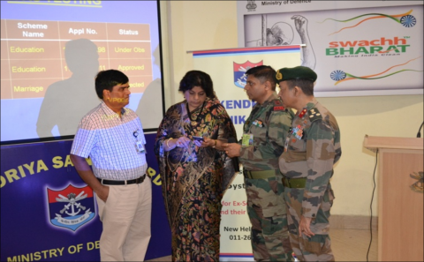 Inauguration of IVRS facility by Secy ESW  in presence of JS ESW, Secy KSB at New Delhi on 6.9.2019.