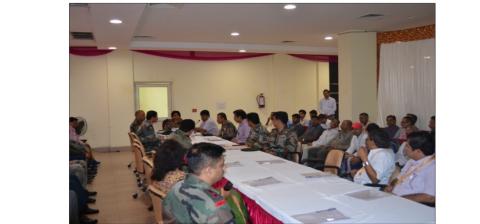 Single Use Plastic Minimising Use/ Swachh Bharat Workshop   at  CSRH, Naraina on 6.9.2019